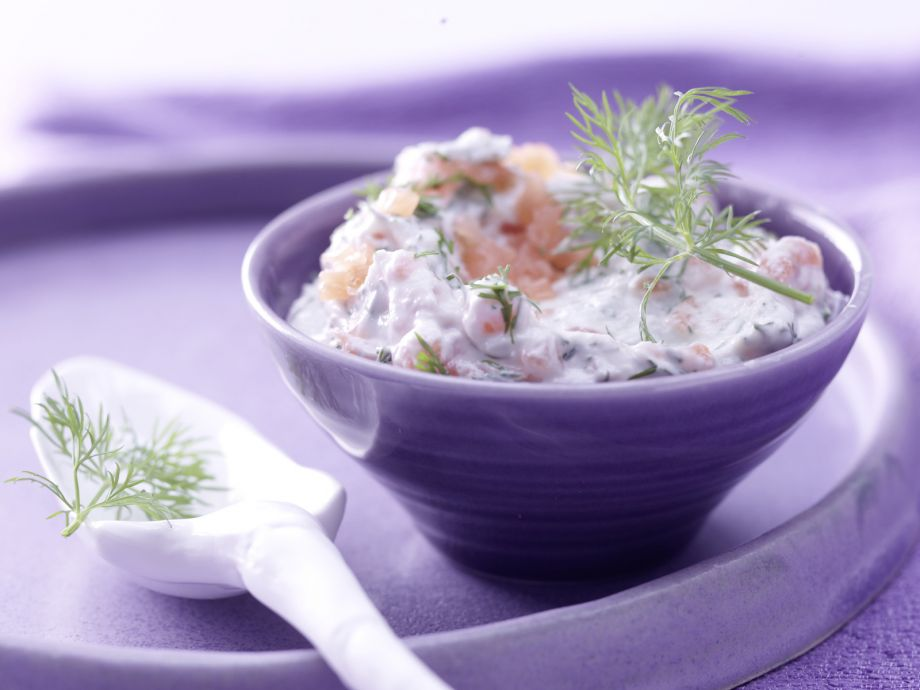 Smoked Salmon Spread - Smoked Salmon Spread - Spicy herb spread goes over well with guests