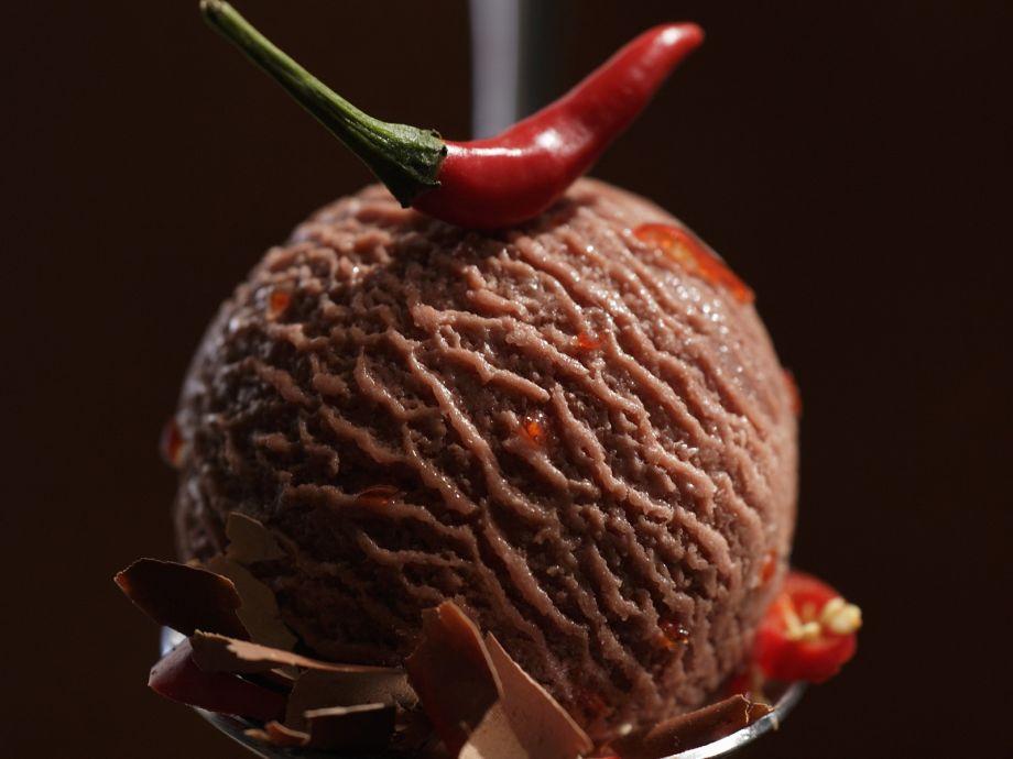 Spicy Chocolate Ice-cream