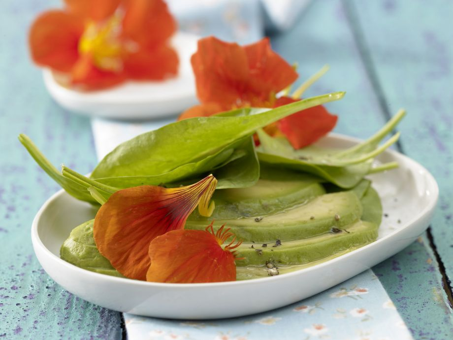 Spinach Salad with Avocado - Spinach Salad with Avocado - Strikingly handsome, delicate and great for entertaining