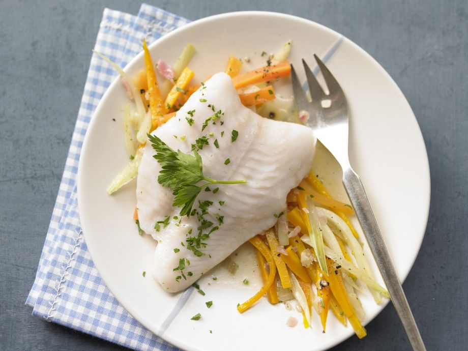 Steamed Fish Fillet - Steamed Fish Fillet - Quick indulgence with low calories