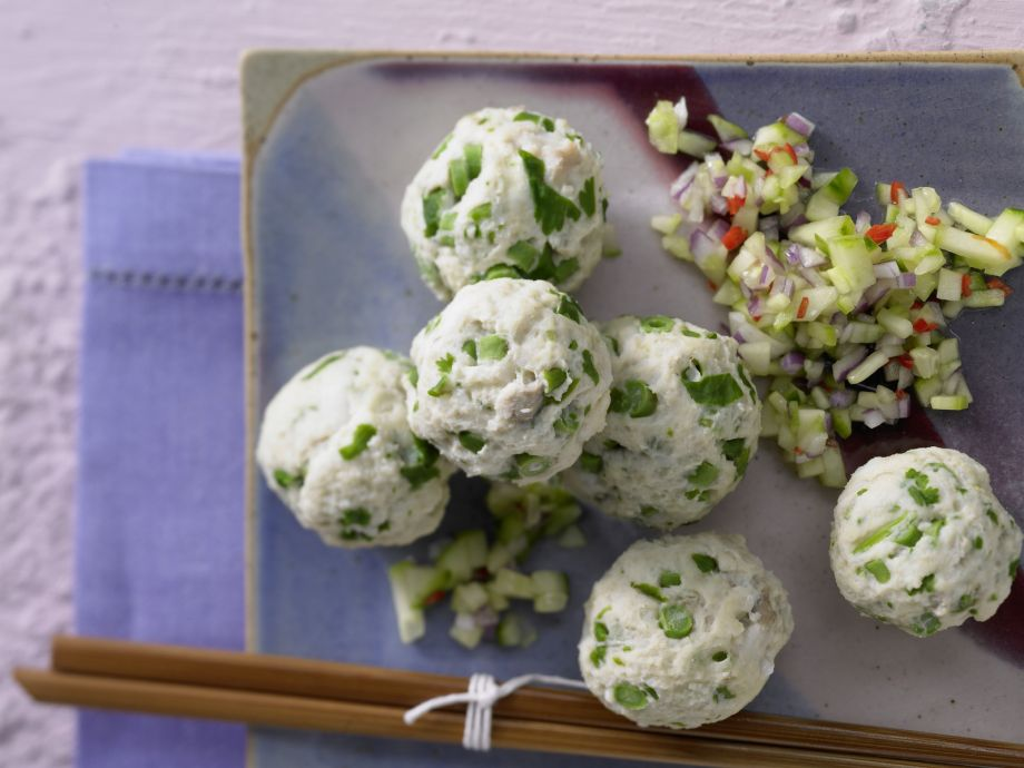 Steamed Thai Fish Balls - Easy, delicious and perfectly suited for guests