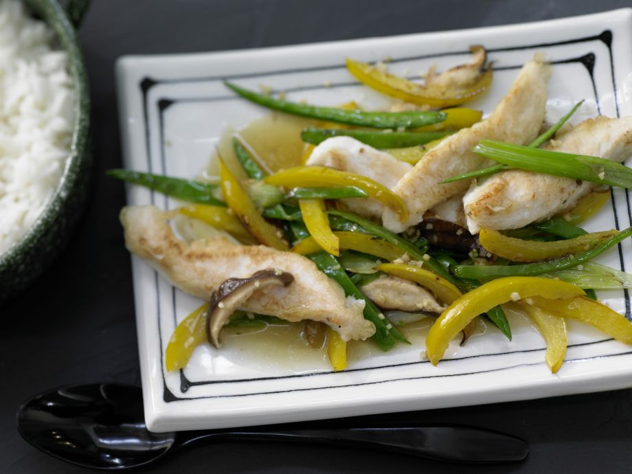 Stir-Fried Chicken - Stir-Fried Chicken - Great Asian-style dish for those who shy away from spicy food