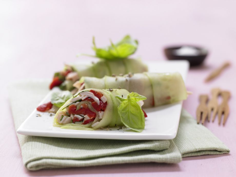 Stuffed Cucumber Rolls - Stuffed Cucumber Rolls - Lovely, refined and easy to pull off