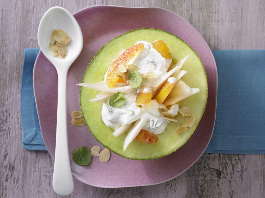 Stuffed Melon - Stuffed Melon - A summer indulgence that provides year-round, sunny enjoyment