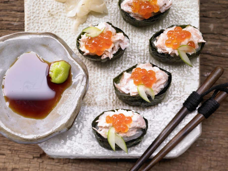 Sushi Boats - Sushi Boats - A full meal of artful Japanese cuisine