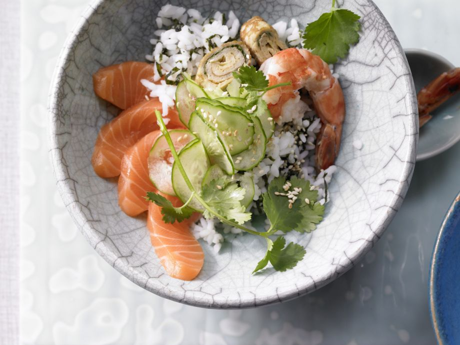 Sushi Bowl - Sushi Bowl - A Far East delicacy without the wrap and roll