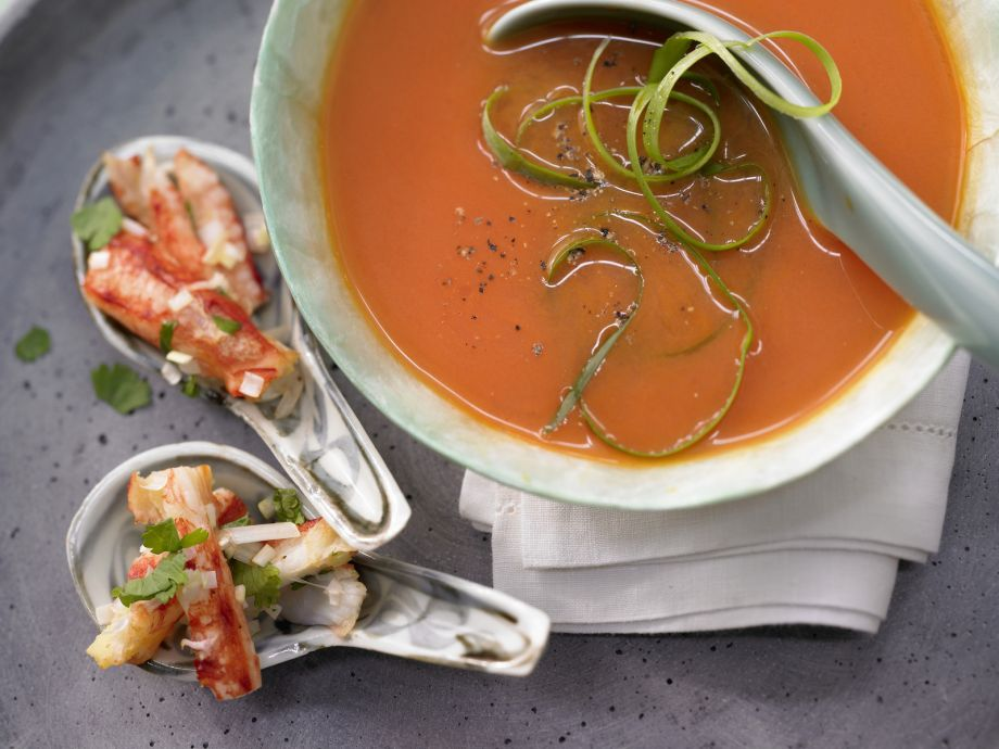 Thai Melon Soup - Thai Melon Soup - This exceptional summer gazpacho is wonderfully refreshing