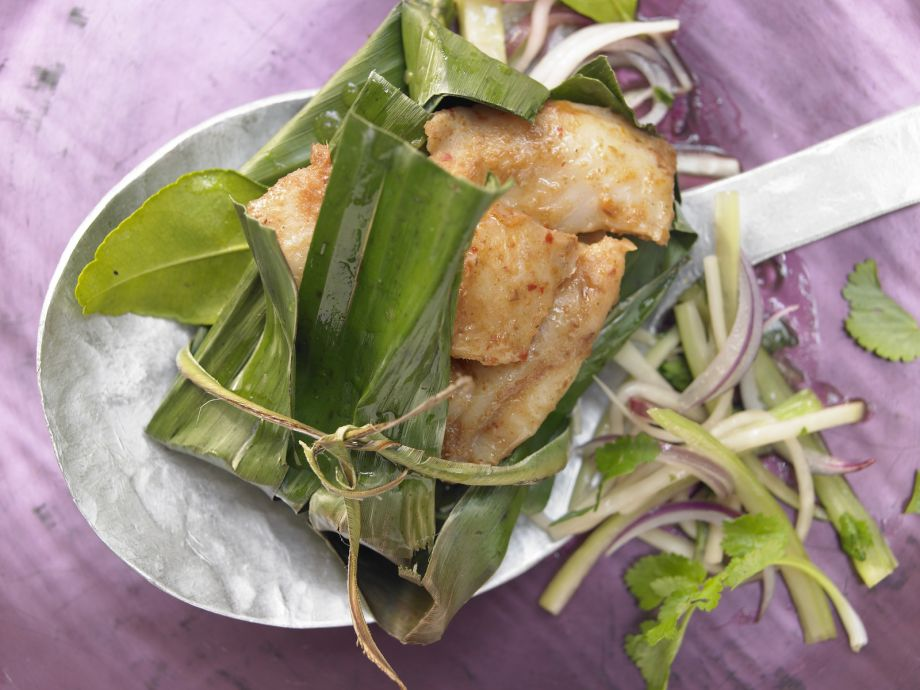 Thai-Style Fish - A light, fruity Asian-Style main dish