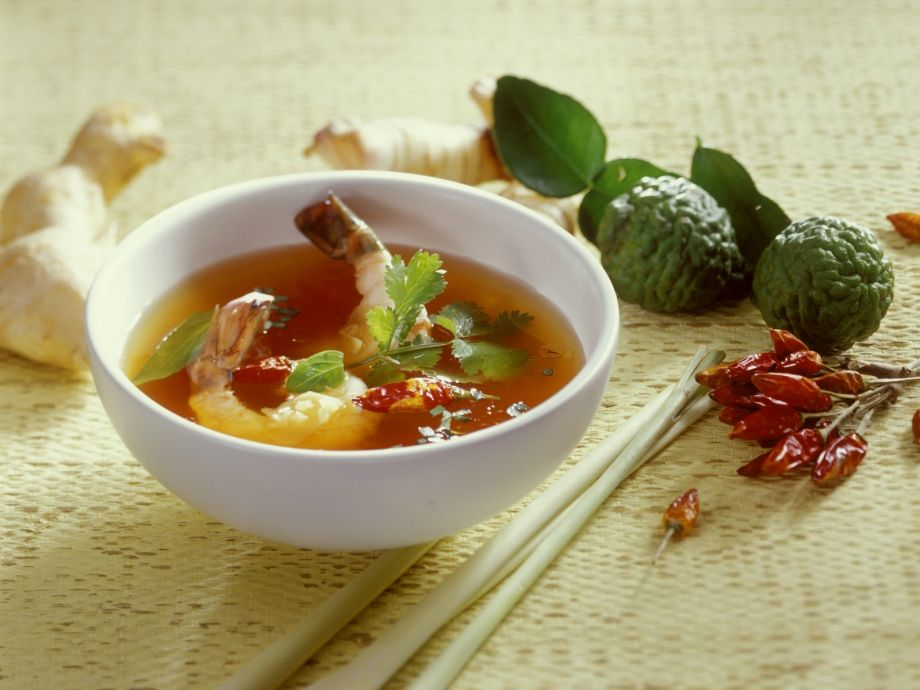 Thai Style Shrimp Broth Recipe Eatsmarter
