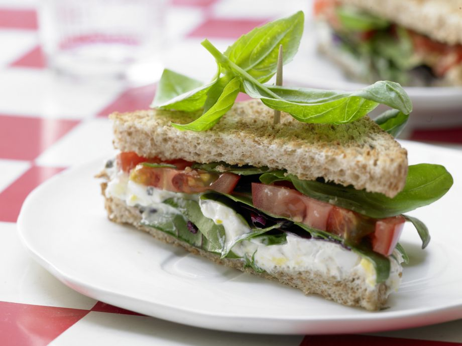 Tomato Sandwich - Tomato Sandwich - A different kind of sandwich: luxuriant yet light