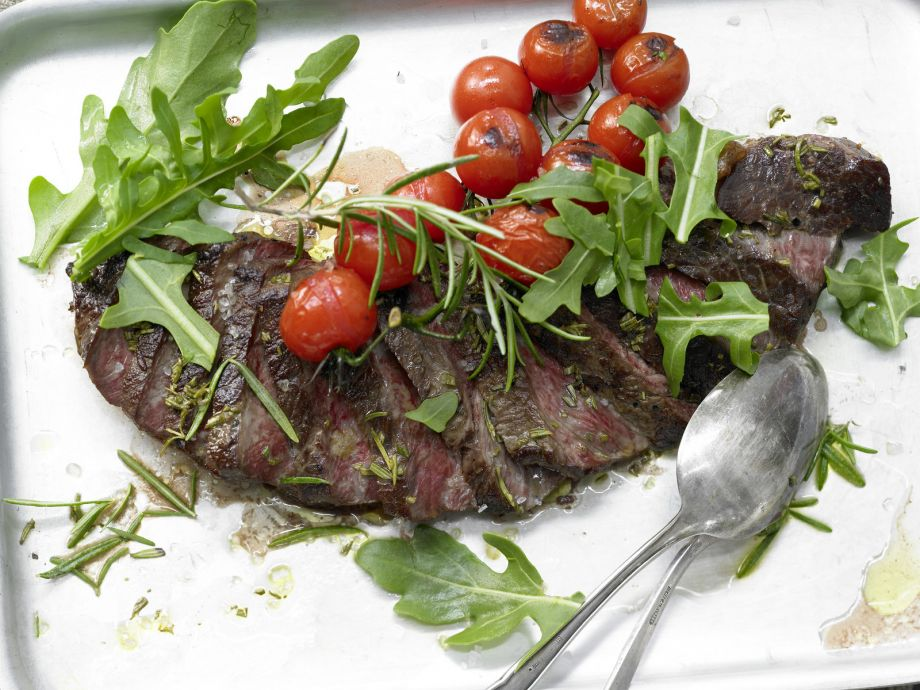 Top Round Steak with Tomatoes - Top Round Steak with Tomatoes - Molto bene!