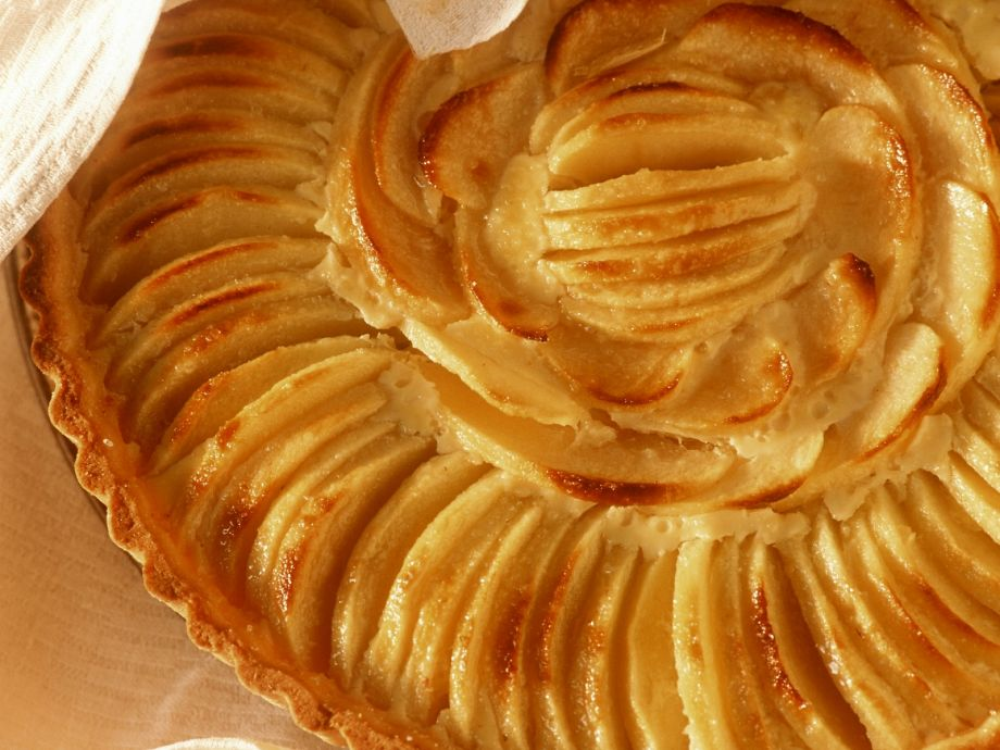 French Style Apple Pie