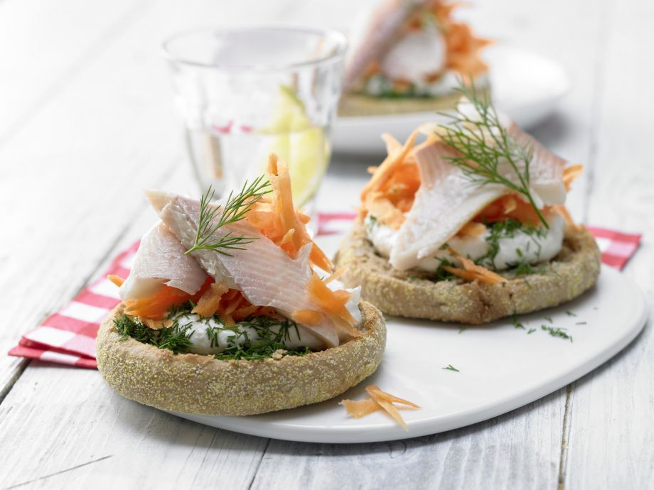 Trout Fillets with Horseradish Cream - Trout Fillets with Horseradish Cream - Hearty and yet wonderfully delicate