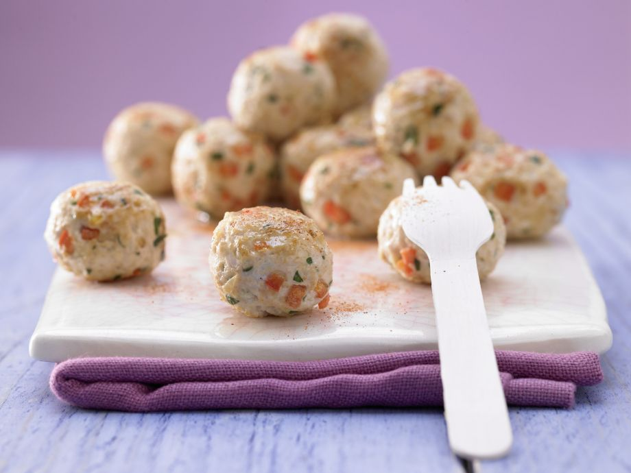 Turkey Meatballs - Turkey Meatballs - Great healthy party food - lean meat with vegetables