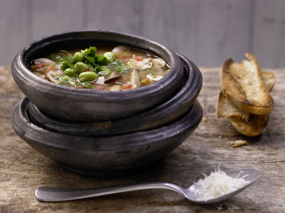 Tuscan Mushroom Soup - Tuscan Mushroom Soup - A flavorful mix of vegetables and herbs