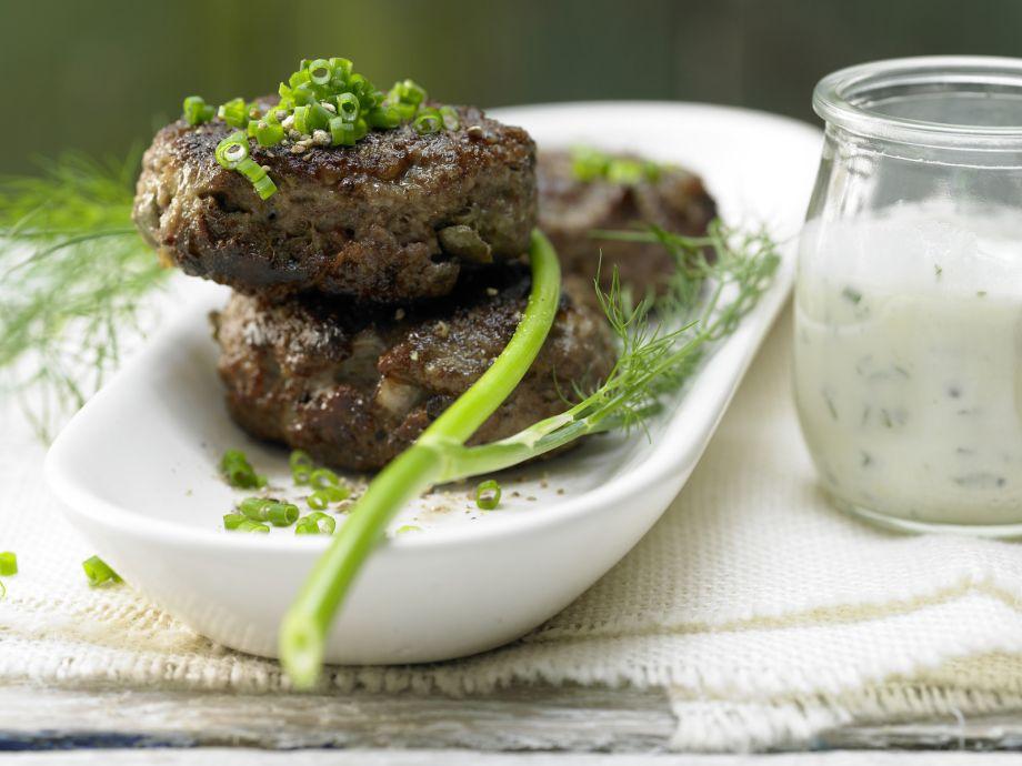 Veal Meatballs - Veal Meatballs - Juicy fried meatballs seasoned with capers