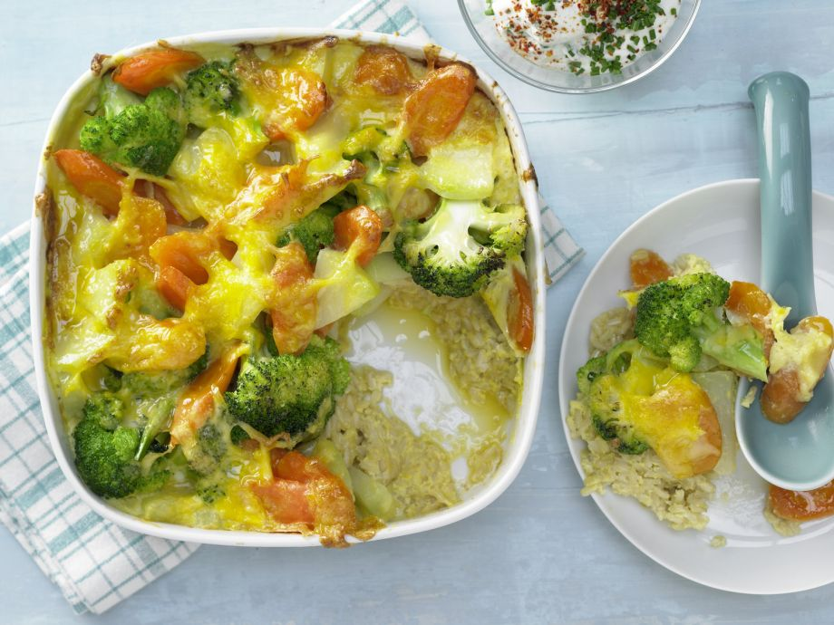 Vegetable-Rice Casserole - A tasty lunch for the whole family
