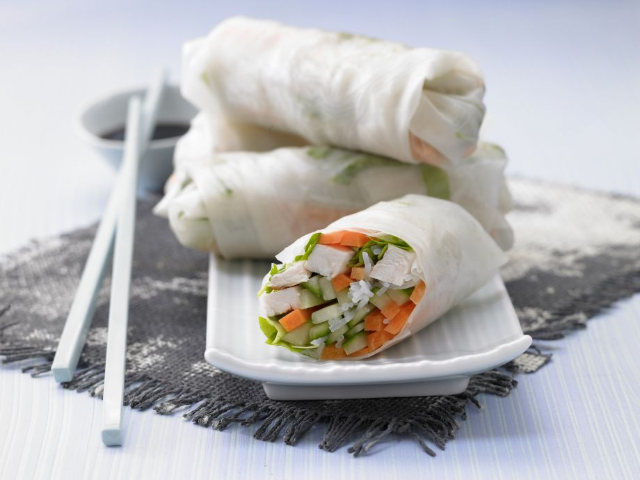 Vietnamese Spring Rolls - Vietnamese Spring Rolls - Happiness guaranteed for figure-conscious connoisseurs!