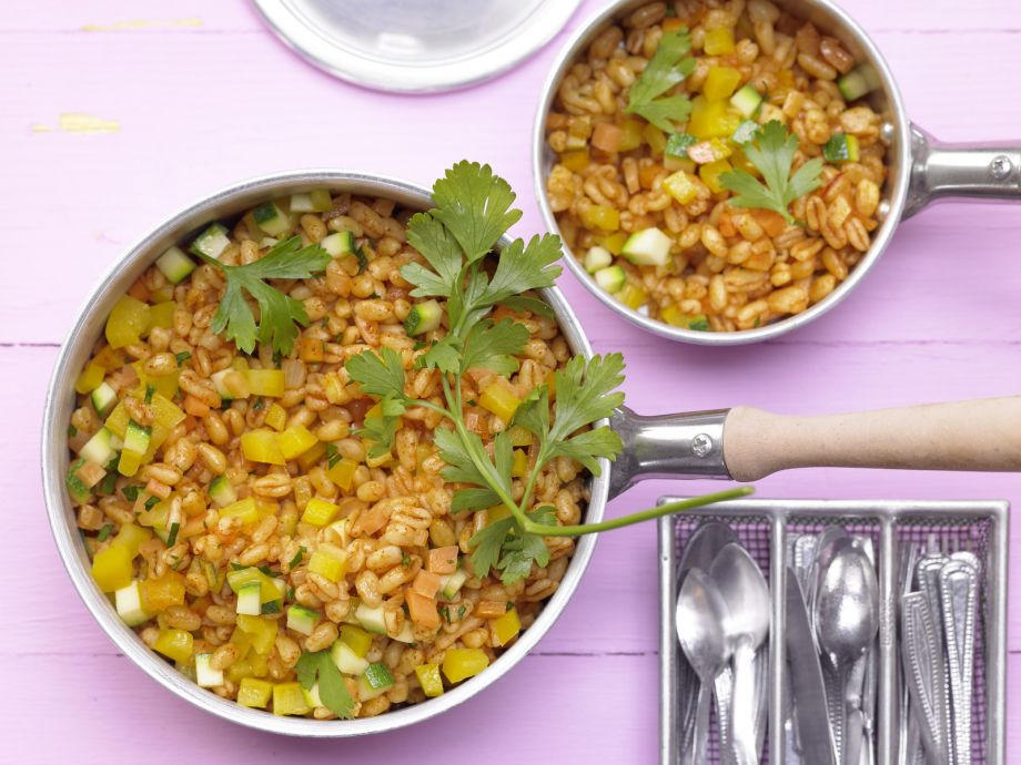 Wheat Pilaf - Wheat Pilaf - The tender grains make this dish appealing to kids, too