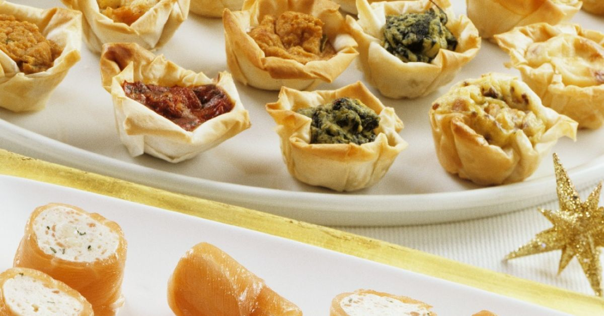 Assorted canapes recipe eat smarter usa for Canape cookbook