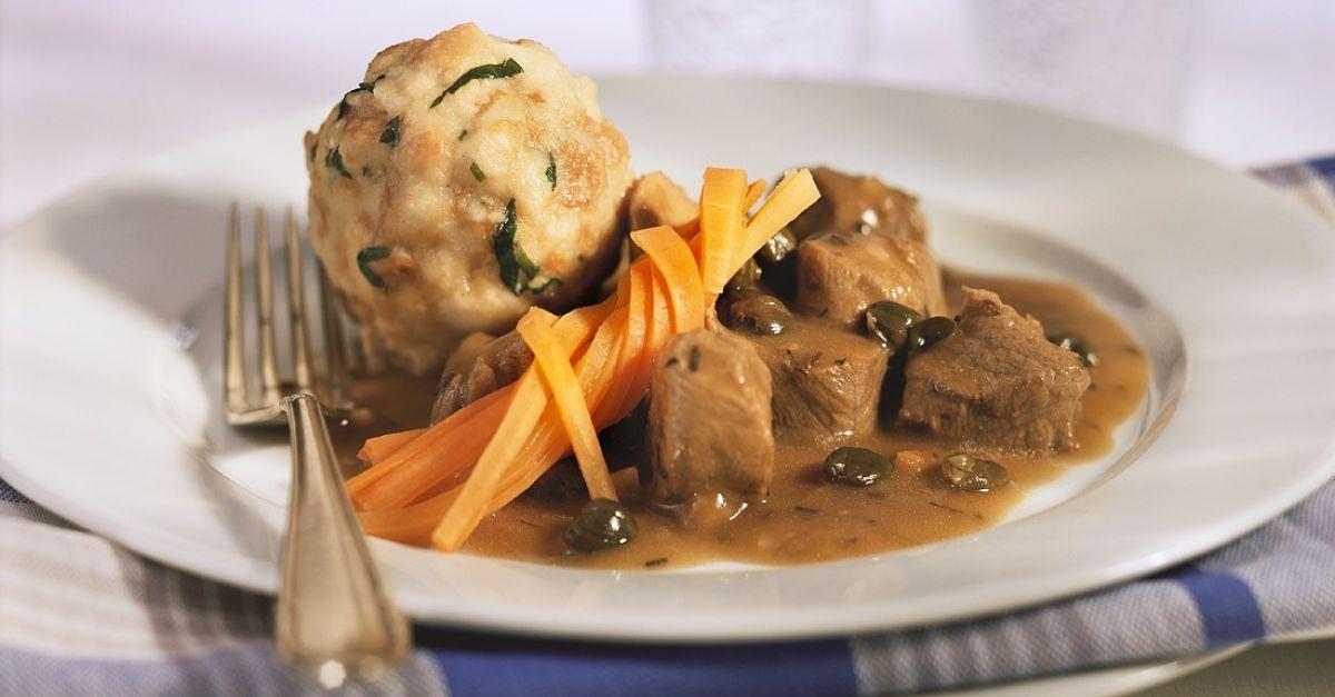 Beef and Beer Goulash with Bread Dumplings recipe | Eat ...