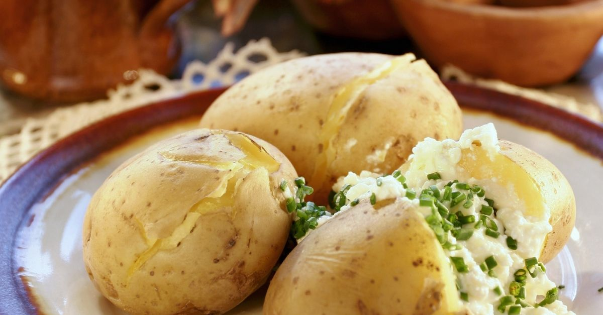 Boiled Potatoes With Cottage Cheese Recipe Eat Smarter Usa