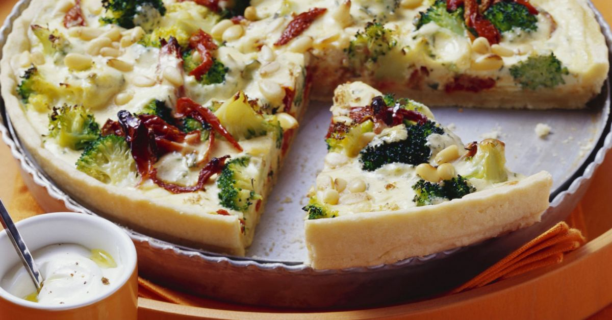 Broccoli And Cheese Quiche Recipe  Eat Smarter Usa-2985