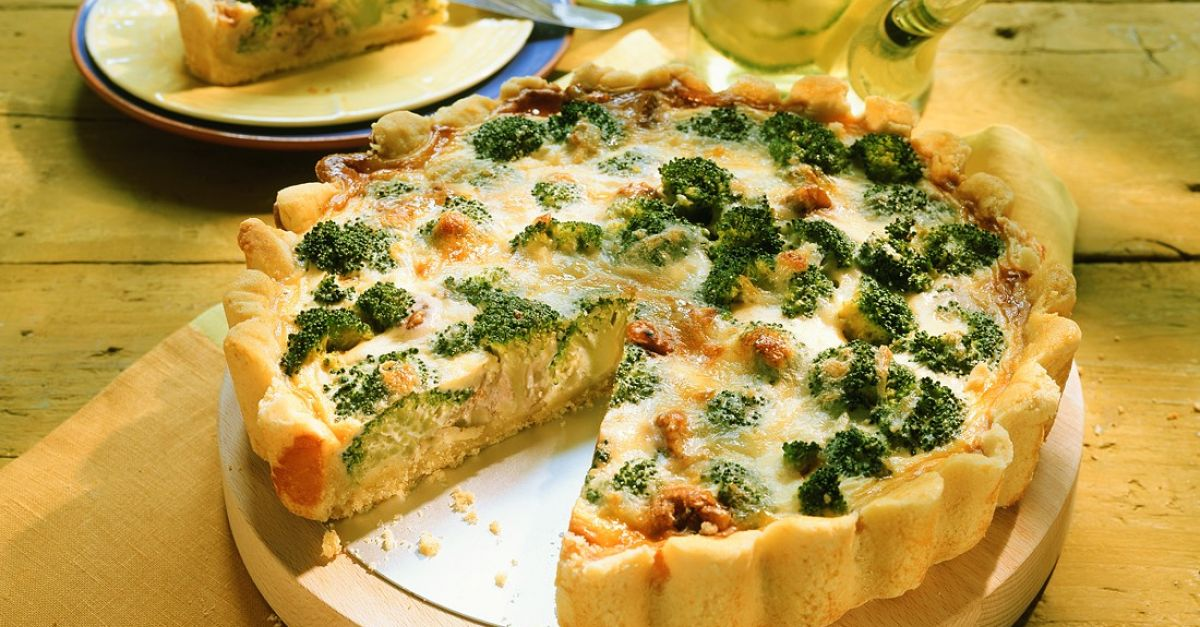 Broccoli Cheese Quiche Recipe  Eat Smarter Usa-8762