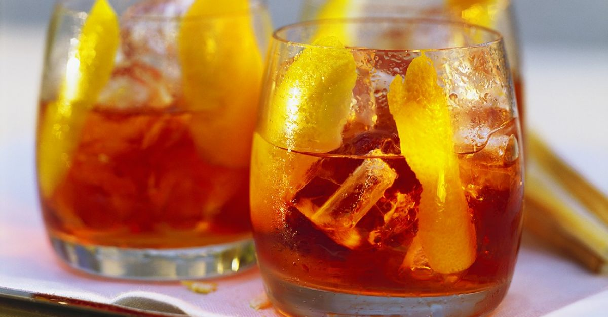 Campari And Soda Cocktail Recipe Eat Smarter Usa