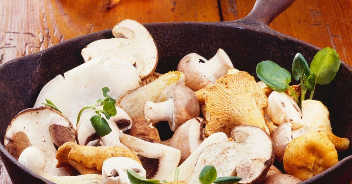 Cast-Iron Mushrooms recipe | Eat Smarter USA