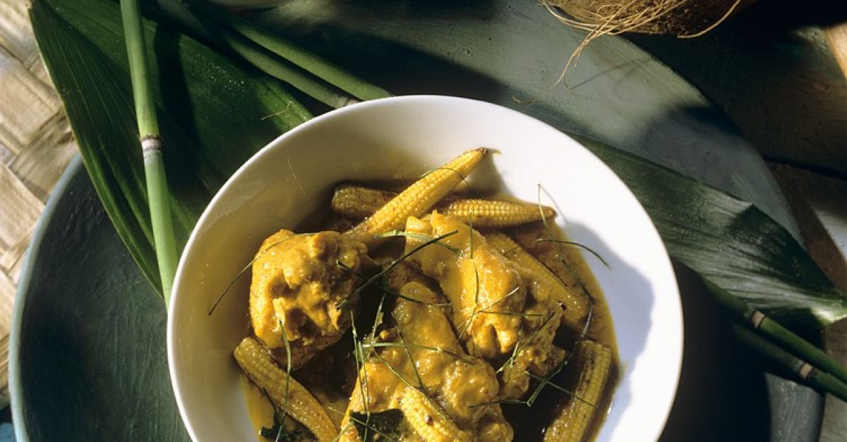 Chicken curry wiht lemongrass and baby corn recipe eat smarter usa forumfinder Gallery