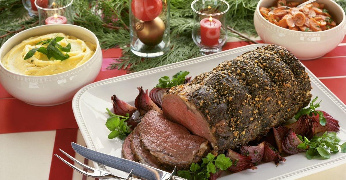 Christmas Roast Beef.Christmas Roast Beef