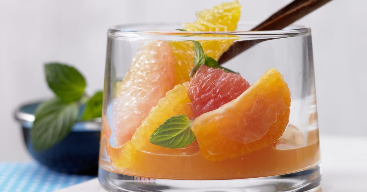 Citrus Fruits in Spiced Syrup recipe | Eat Smarter USA