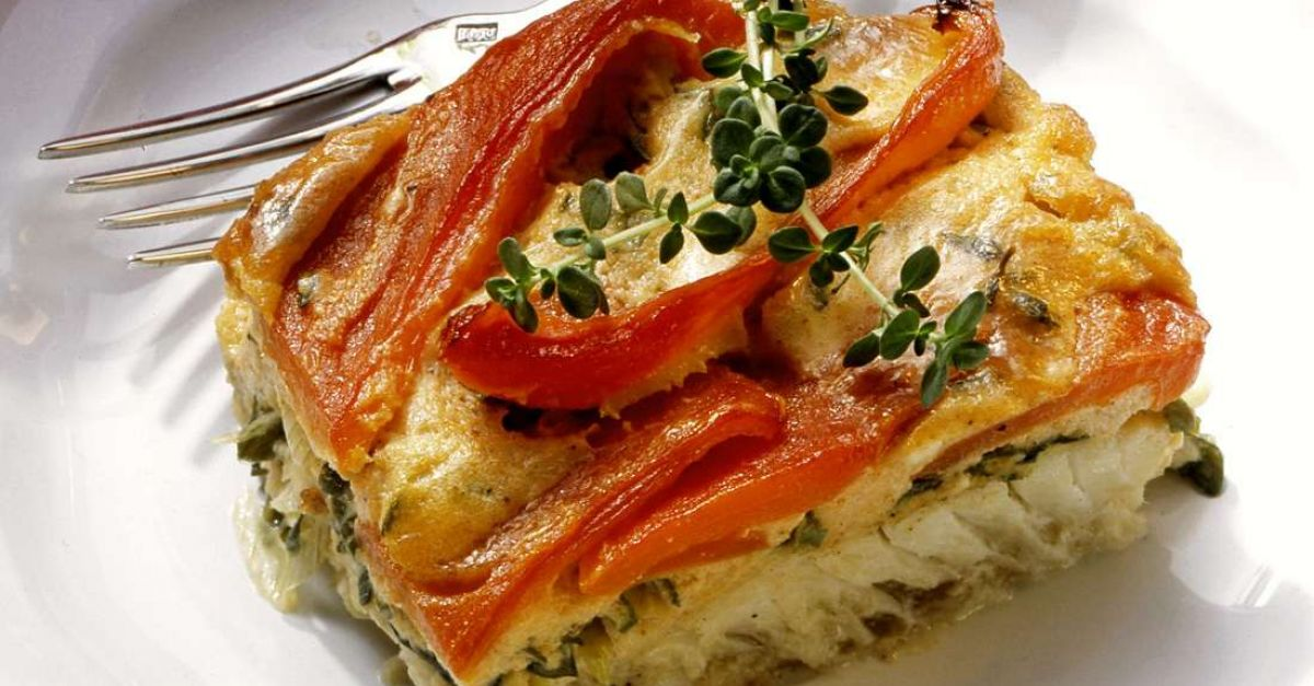 Image result for Creamy Baked Tilapia Casserole with Bell Peppers