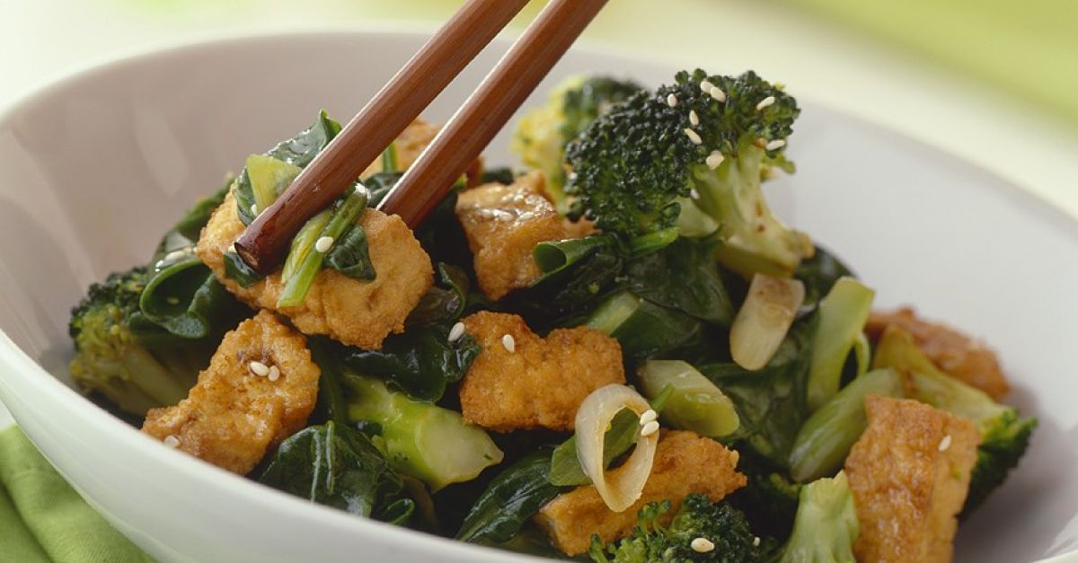 Crispy Tofu With Broccoli And Bok Choy Recipe Eat