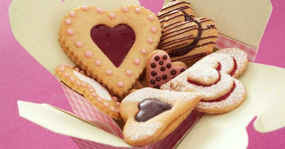 Decorated Heart Shaped Cookies Recipe Eat Smarter Usa