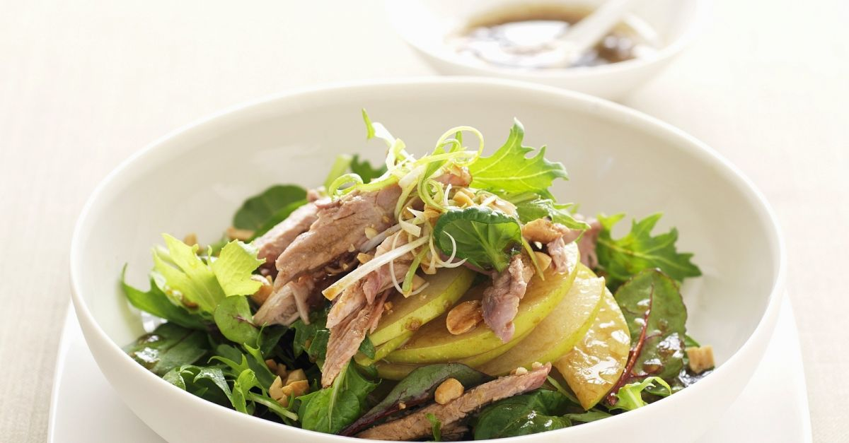 Duck Salad With Japanese Pear Nashi Recipe  Eat Smarter Usa-7076