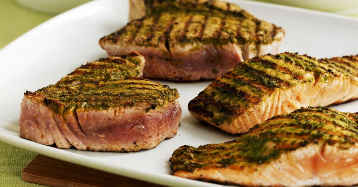 Grilled Fish Steaks recipe | Eat Smarter USA