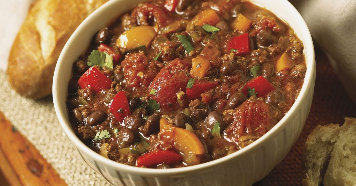 Ground Beef Stew With Peppers And Tomatoes Recipe Eat