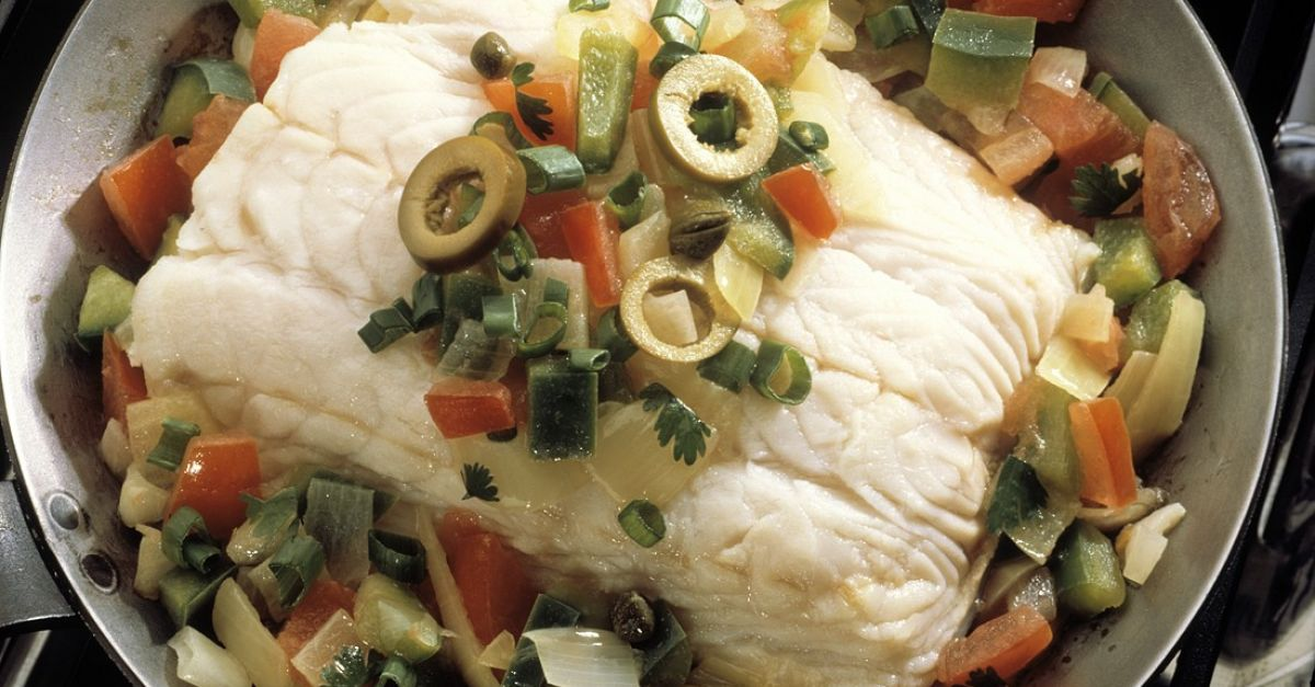 halibut with vegetables recipe  eat smarter usa