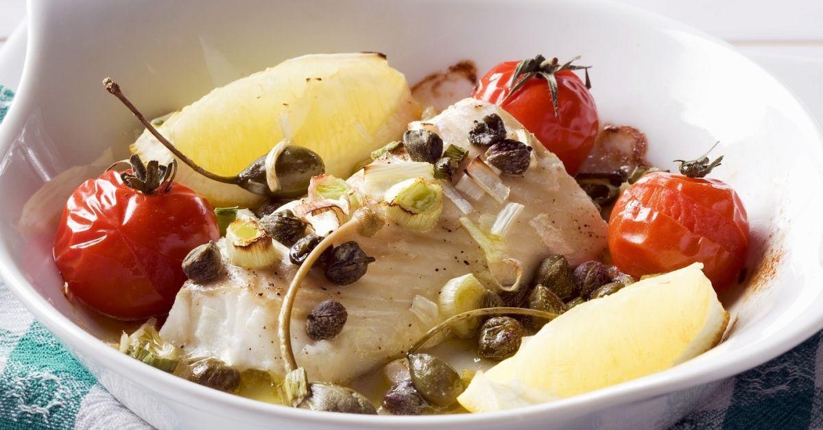 Healthy White Fish Bake Recipe Eat Smarter Usa