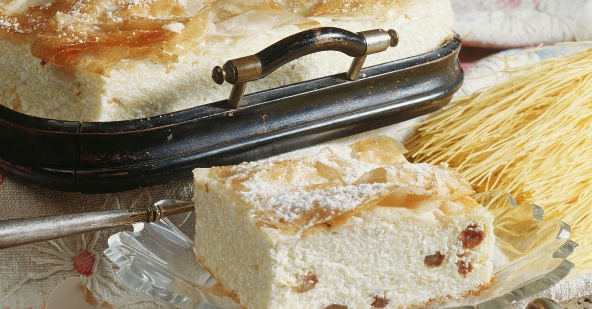 Hungarian-style Quark Raisin Cake recipe | Eat Smarter USA