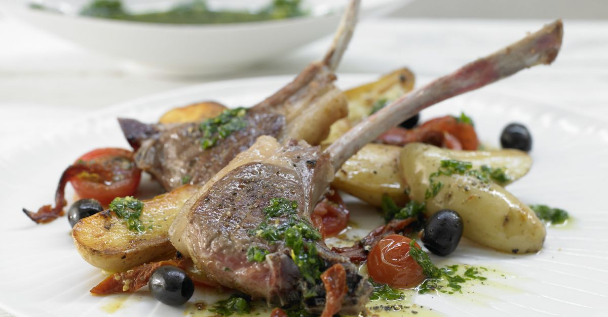 Lamb Chops with Salsa Verde recipe | Eat Smarter USA
