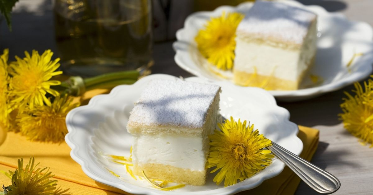 Lemon Cream Sponge Cake Sandwiches Recipe Eatsmarter