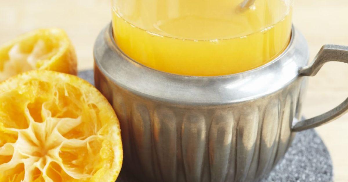Mandarin, Apple and Lemon Fizz
