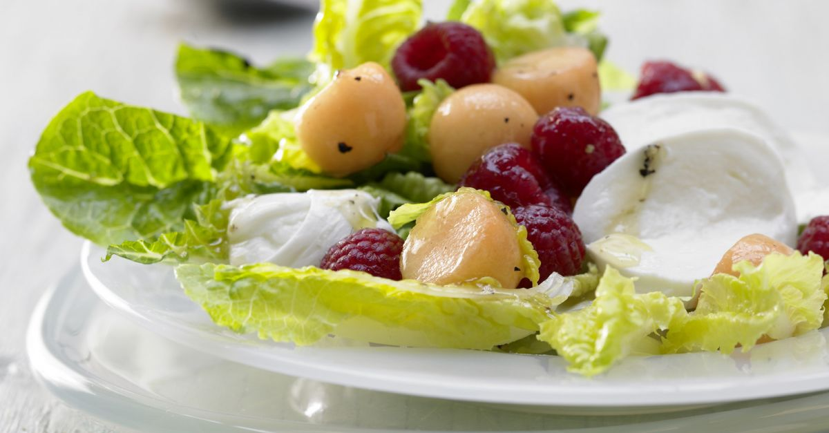Mozzarella And Melon Salad Recipe Eat Smarter Usa