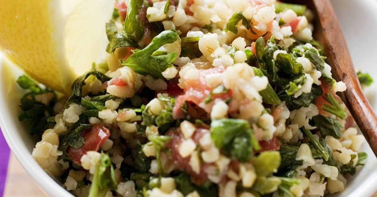 Pearl Barley Salad with Capers and Parsley recipe | Eat ...