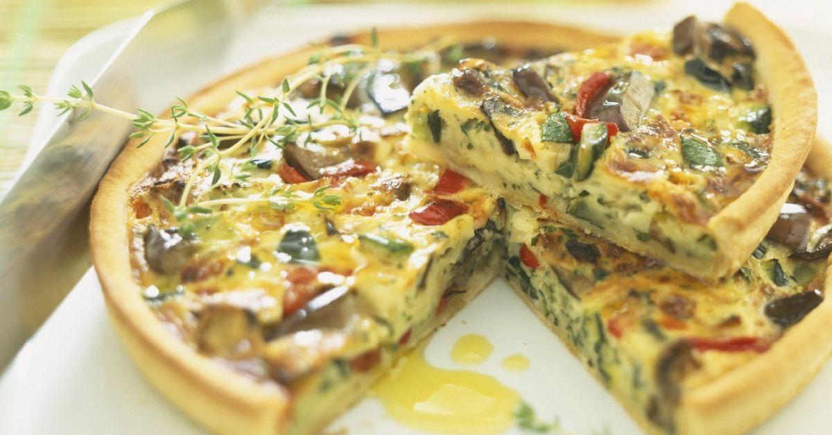 Rustic Ratatouille Quiche recipe | Eat Smarter USA