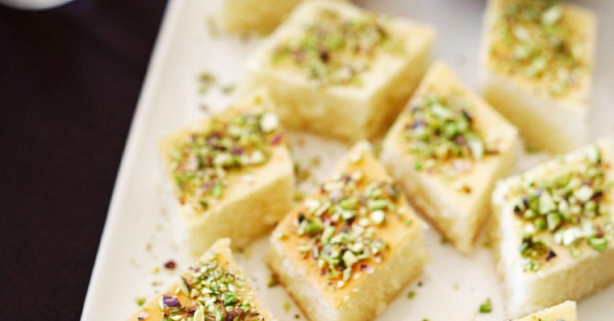 Semolina Syrup Cake with Pistachios recipe | Eat Smarter USA