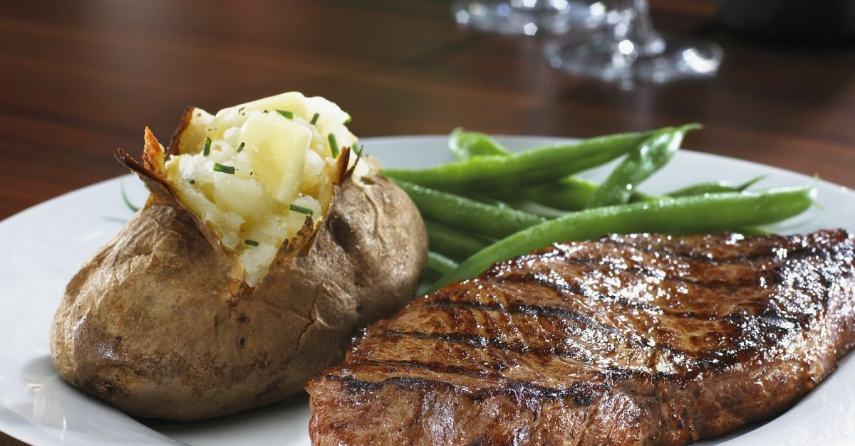 Image result for steak and potatoes
